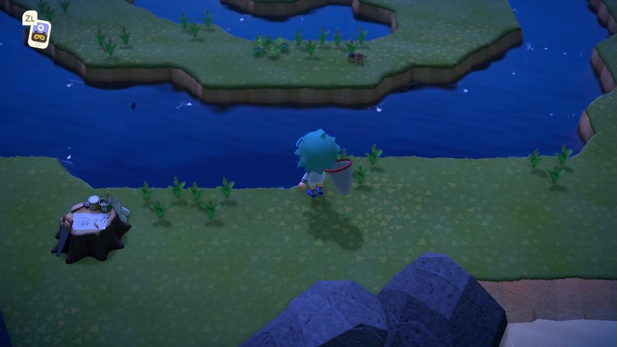 島 作り方 タランチュラ 疑似